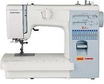 Usha Janome Automatic Stitch Magic 85 Watt Sewing Machine White and Blue  85 Watt 85Watt available at Amazon for Rs.15689