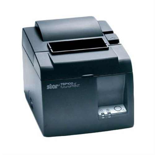 Thermal receipt printer  with Ethernet or USB interface, internal power supply, and auto cutter.
