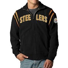 NFL Pittsburgh Steelers Mens Heisman Track Jacket by