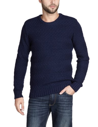 Selected Homme Rob Crew Neck T Men's Jumper Peacoat Small