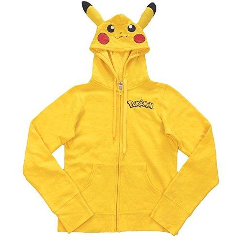 Pocket Monster Pikachu Hoodie Sweater Cosplay Unisex Costume (XL)