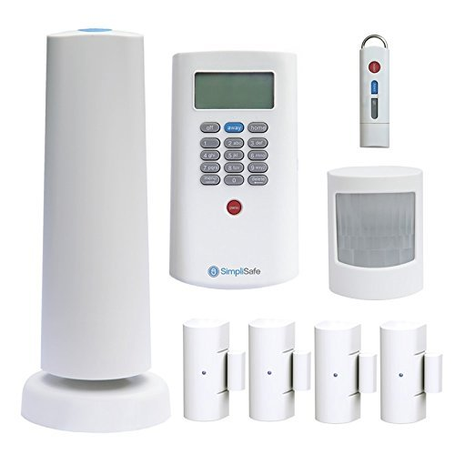 SimpliSafe SSCS2 Wireless Home Security System Plus Package