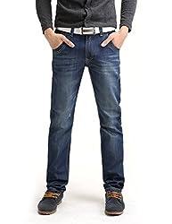 Demon&Hunter Classic Series Men's Regular Straight Leg Jeans DH8003-1(35)