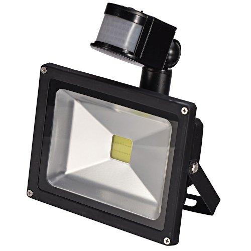 Mudder 20W Pir Infrared Body Motion Sensor White Led Flood Light Induction Sense Landscape Lamp Floodlight 85-265V Ip65 45Mil
