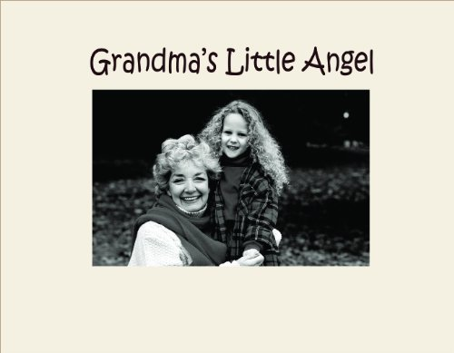 Infusion Gifts 3042SO Engraved Photo Frame, Grandma's Little Angel, Oyster