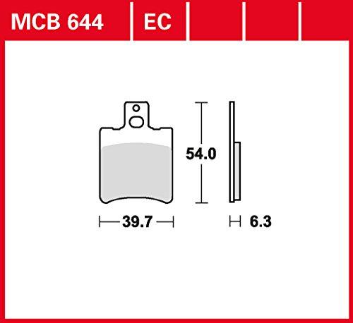 plaquette-de-freins-lucas-mcb644ec-pour-aprilia-rally-50-md0-ac-aprilia-rally-50-mda-lc-aprilia-rall