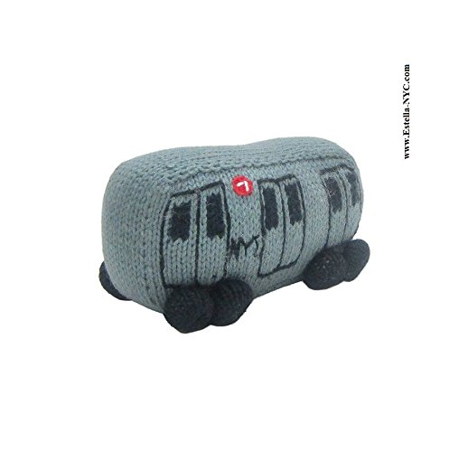 estella-baby-rattle-toy-in-shape-of-a-subway-train-hand-knit-soft-infant-toy-grey