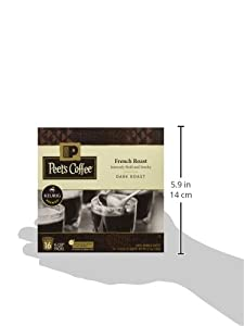Peet's Coffee French Roast Single Cup Capsule, 96-Count