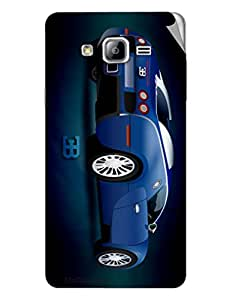 Miicreations Mobile Skin Sticker For Samsung Galaxy On7,Car