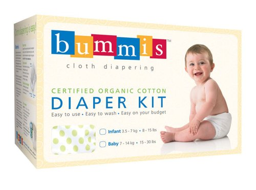 Bummis Organic Cotton Diaper Kit - 1