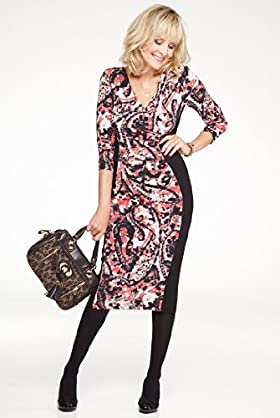 Twiggy for M & S Woman Blurred Panel Dress