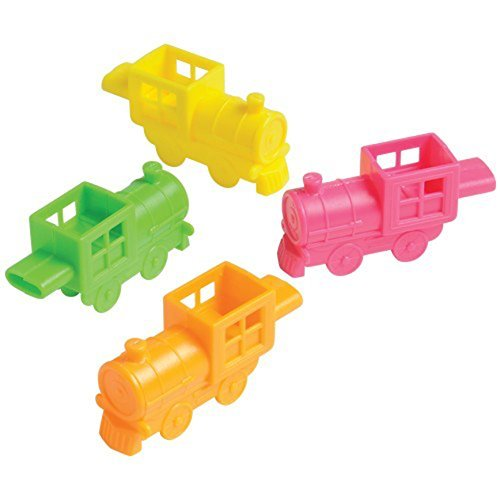 US Toy Mini Train 12 Whistles