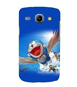 printtech Doraemon Cartoon Back Case Cover for Samsung Galaxy On7