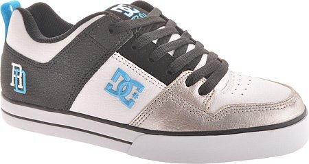 DC Men's RD 1.5 SE Sneaker,White/Black/Turquoise,7 M