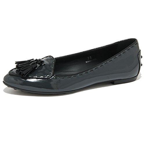 0435O ballerina TOD'S BALLERINA GOMMA NAPPINE scarpe donna shoes women [37]