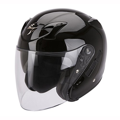 Scorpion - Motorcycle helmets - Scorpion EXO-220 Black - M