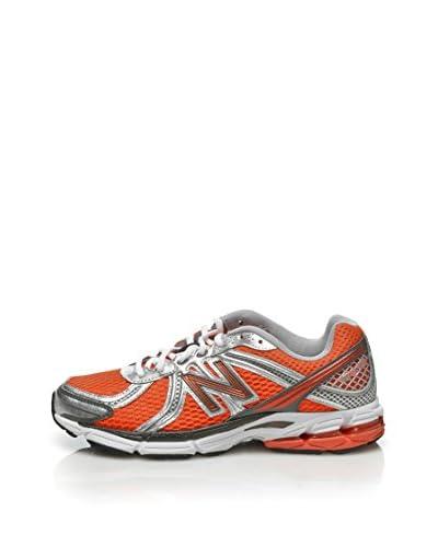 New Balance Scarpa Running W770 Woman [Rosso/Argento]