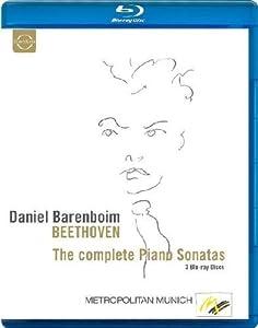 Beethoven: Complete Piano Sonatas (Sonatas Recorded In Vienna 1983-84) (Daniel Barenboim) (Euroarts: 2066424) [Blu-ray] [2012] [Region Free]