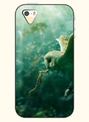 Oofit Phone Case Design With Hippocampus And Birds For Apple Iphone 4 4S 4G