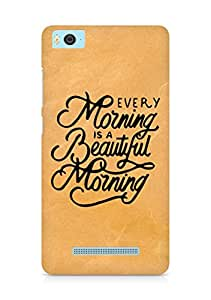 AMEZ every morning is a beautiful morning Back Cover For Xiaomi Mi5