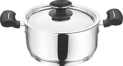Vinod Cookware 202 Tivoli Casserole With Lid Transparent