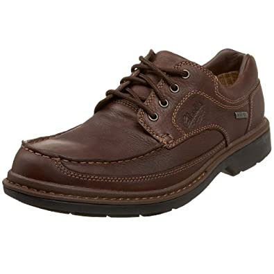 Clarks Men's Street Lo Gtx Oxford,Brown,12 M