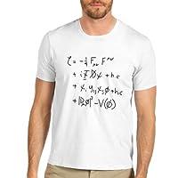 Men's Standard Model Math Equation Funny Printed T-Shirt