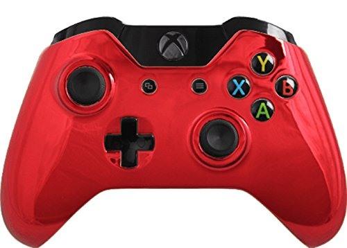 Custom Xbox One Controller Special Edition Red Chrome Controller