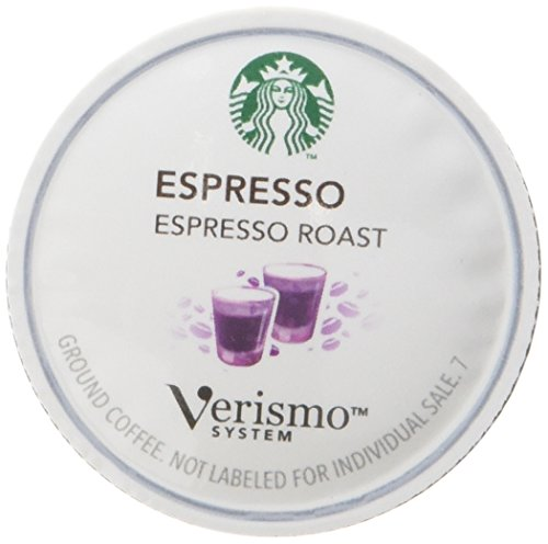 Starbucks Verismo Coffee Maker Instructions : Starbucks Verismo Pods 96 Count (Espresso)
