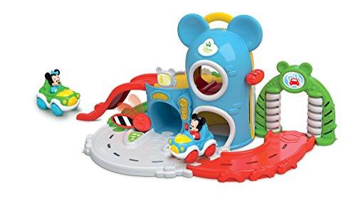 Clementoni 14985 - Baby Mickey Garage Interattivo