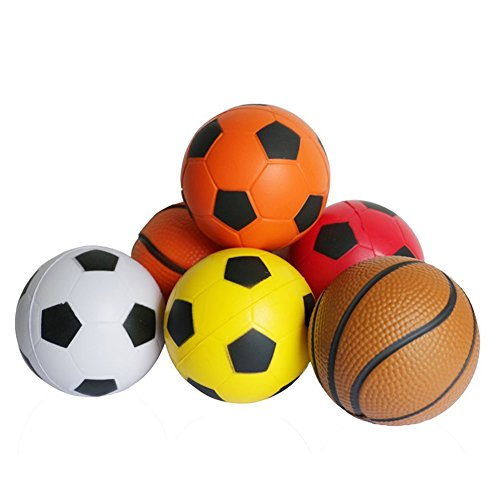 Fajiabao-Mini-Foam-Ball-Toys-Basketball-Soccer-Football-Softball-Stress-Squeeze-Balls-for-Boy-Girl-Party-Favors-Sports-Game-Play-Pack-of-6