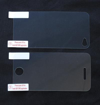 6 Front & Back Protector Sets for Apple iPhone 4 LCD Touch Screen (12 Protectors Total - 6 Front / 6 Back)