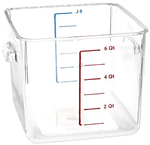 Rubbermaid Commercial Carb X Space Saving Food Service Container