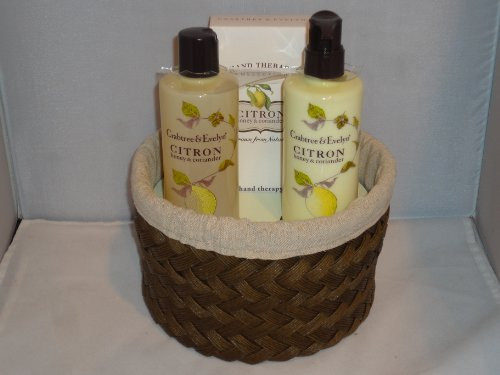 Crabtree & Evelyn - Citron, Honey & Coriander - Essentials Basket at Sears.com