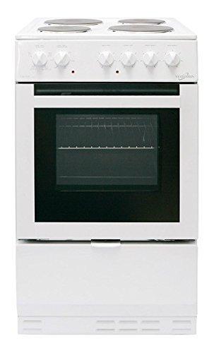 Statesman Delta50E 50Cm Single Cavity Electric Cooker In White