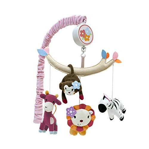Lambs & Ivy Jelly Bean Jungle Musical Mobile (Discontinued by Manufacturer) - 1
