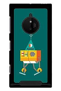 Caseque Punky Robo Back Shell Case Cover For Nokia Lumia 830