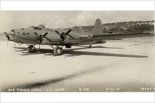 Photographic Print of Boeing B-17E Flying Fortress September 1941
