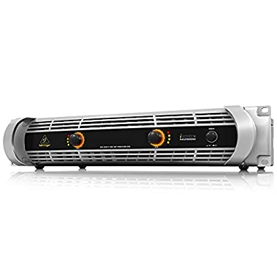 Behringer NU1000 Ultra-Lightweight High-Density 1000-Watt Power Amplifier by Behringer