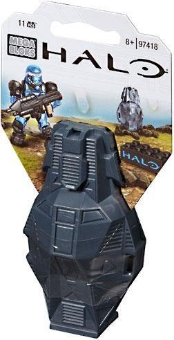 Mega Bloks Halo Metallic Blue ODST Toy Figure
