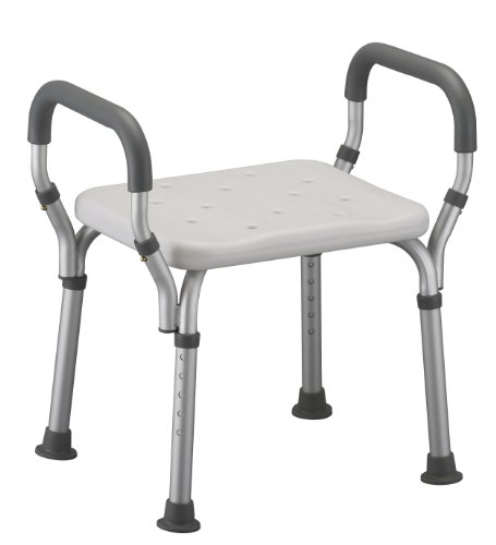 Medmobile 174 Bath Bench With Back Support And Removable