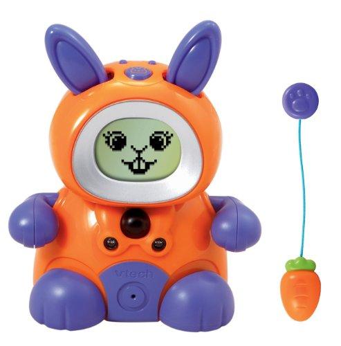 Vtech Kidiminiz KidiBunny Interactive Pet Bunny - Orange/Purple Rabbit - 1
