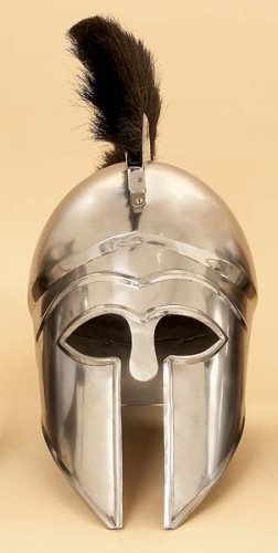 "Medieval Helmet ""THE GREEK CORINTHIAN  BLACK"