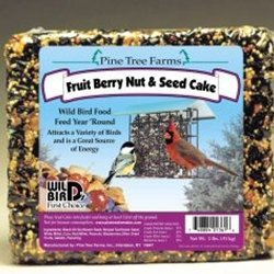 Cheap Pine Tree 1361 Fruit Berry Nut and Seed Cake, 2-Pound (B000HHHCMA)