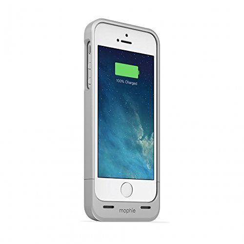 mophie Juice Pack Helium Battery Case for iPhone 5/5s (1,500mAh) - Silver [並行輸入品]