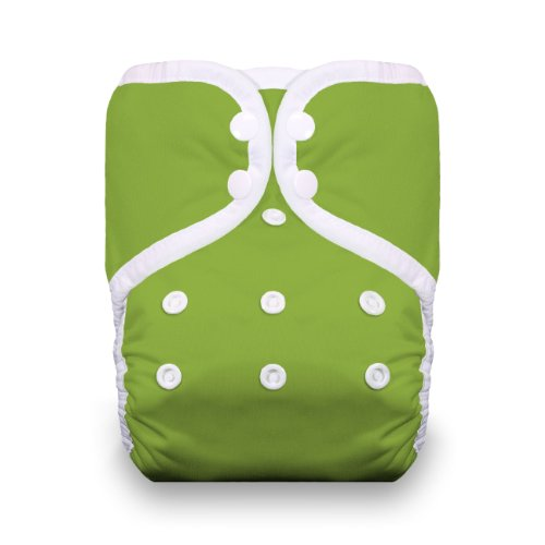 Thirsties One Size Pocket Diaper Snap, Meadow front-347236