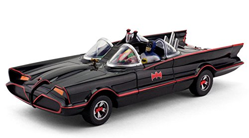 Batman and Robin Classic TV Series Batmobile With Bendable Figures