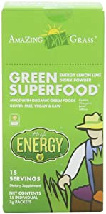 Amazing Grass Energy Green Superfood Powder, 15-Count