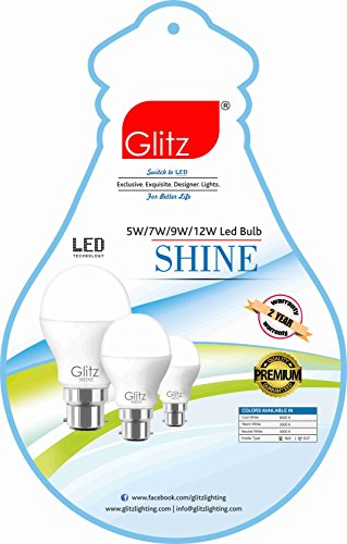 5W-B22-90L-LED-Bulb-(Cool-White,-Pack-of-4)