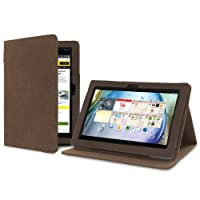 Version Stand Natural Hemp Case for Lenovo IdeaTab S6000 - Cocoa Brown